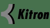 Kitron logo svart