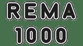 Rema 1000 logo svart hvit