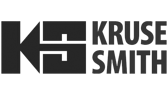 kruse smith logo svart hvit