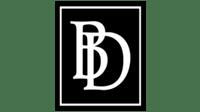 bd logo svart hvit