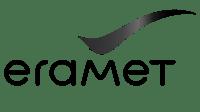eramet logo svatt hvit