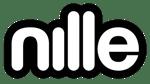 nille logo svart hvit