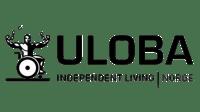 uloba logo svart hvit